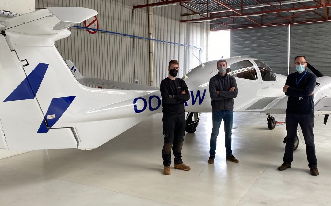 Skywings Flight Training partners up with Gill Aviation for permanent on-site maintenance.