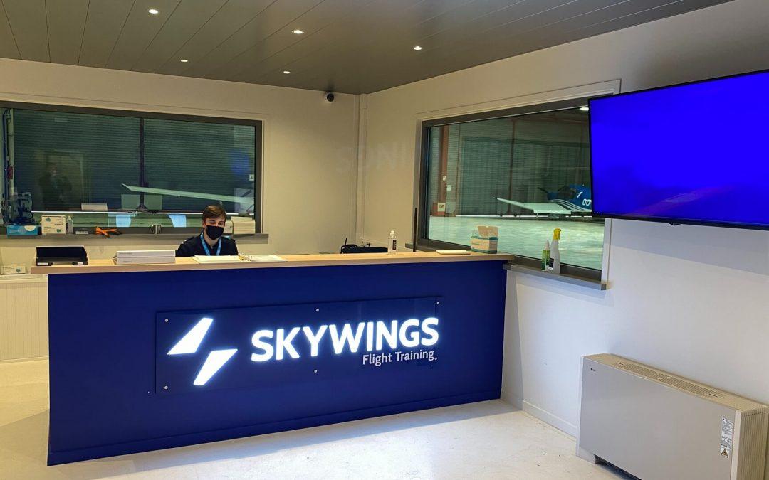 Nieuwe campus van Skywings Flight Training volledig in gebruik